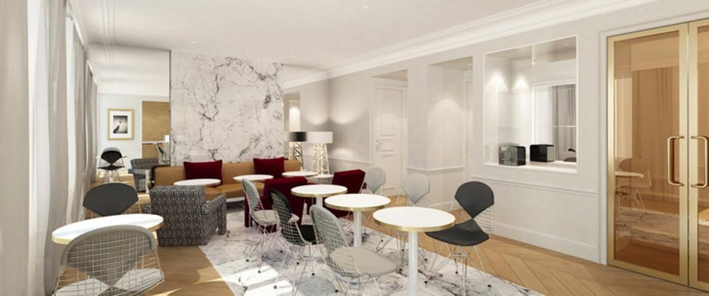 Renovation of the hotel
