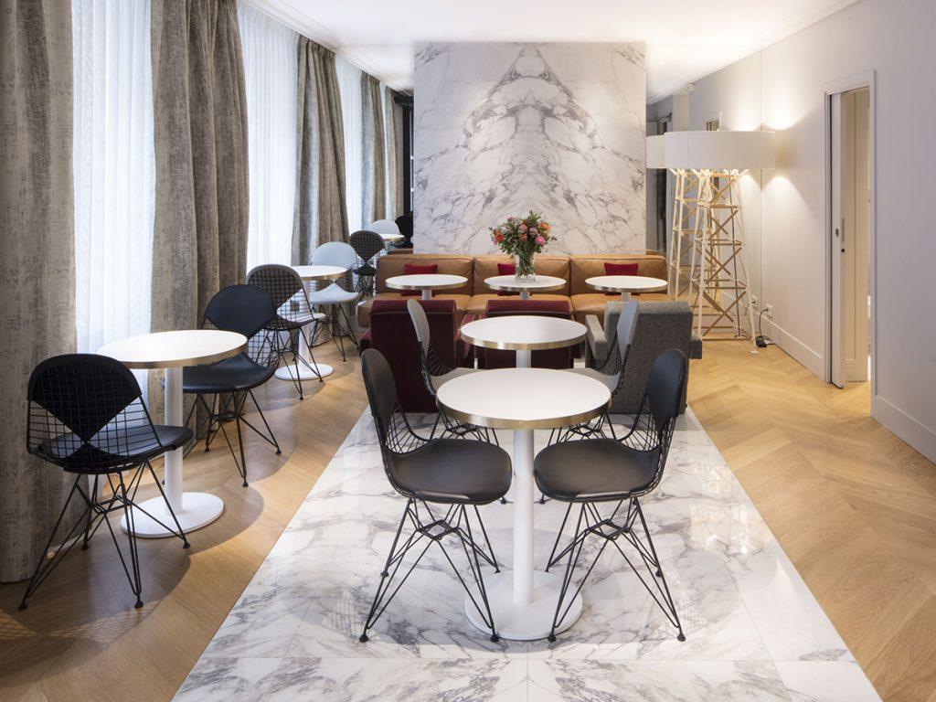 Le Nouvel Hôtel Eiffel 3 étoiles chic et design à Paris