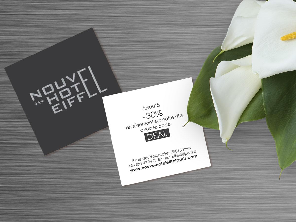 code promo Nouvel Hotel Eiffel Paris